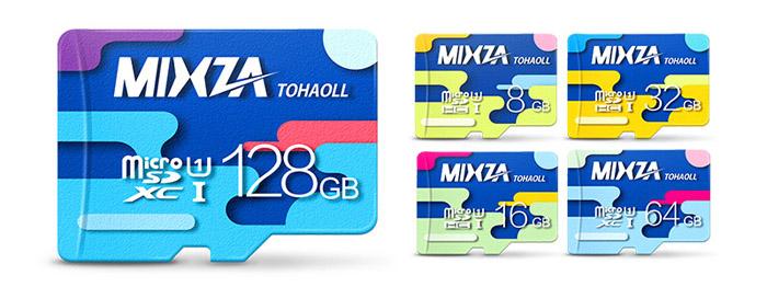 Micro SD Mixza Tohaoll на 128 ГБ