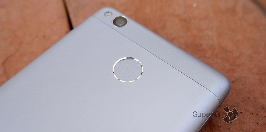 Сканер отпечатков пальцев - отличие Xiaomi Redmi 3S от прежней версии