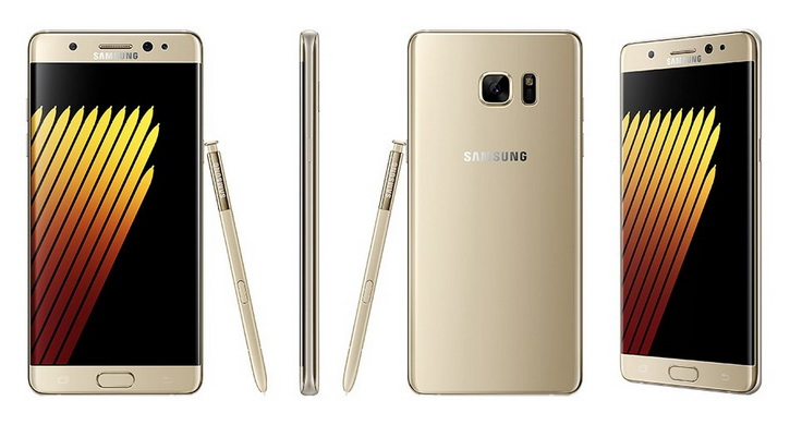 Samsung Galaxy Note 7 рендер