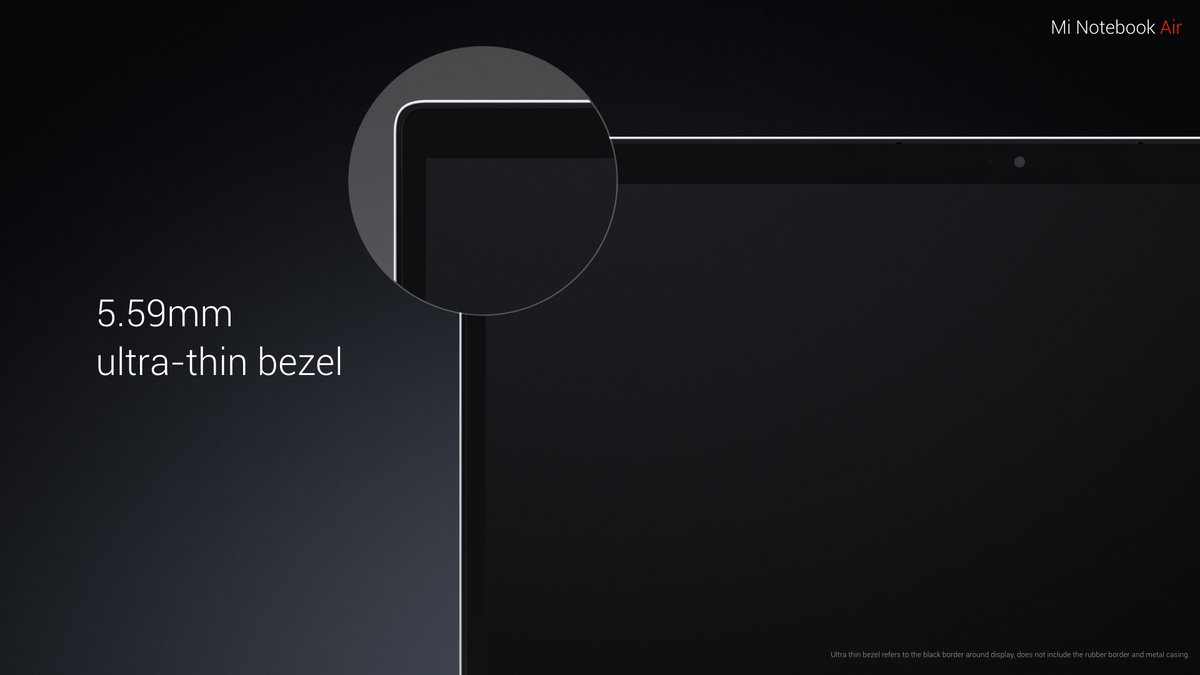 Xiaomi Mi Notebook Air представлен официально