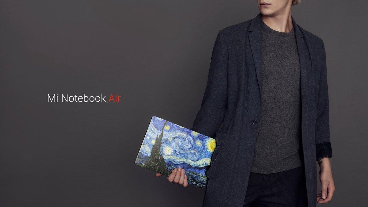 Xiaomi Mi Notebook представлен официально дизайн