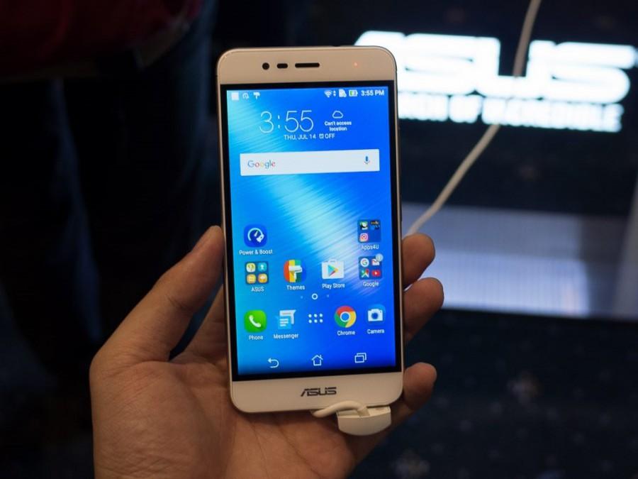 Zenfone 3 max спереди