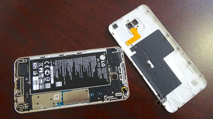 Аккумулятор LG X Cam несъемный