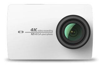 Белая Yi 4K Action Camera