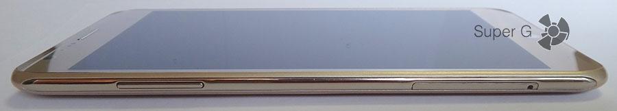 Боковая сторона смартфона LG X Cam