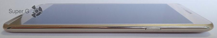 Клавиши регулировки громкости LG X Cam
