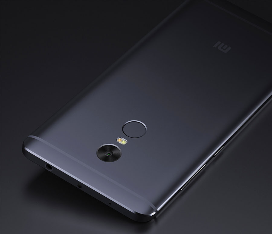 Сканер отпечатков пальцев на смартфоне Xiaomi Redmi Note 4