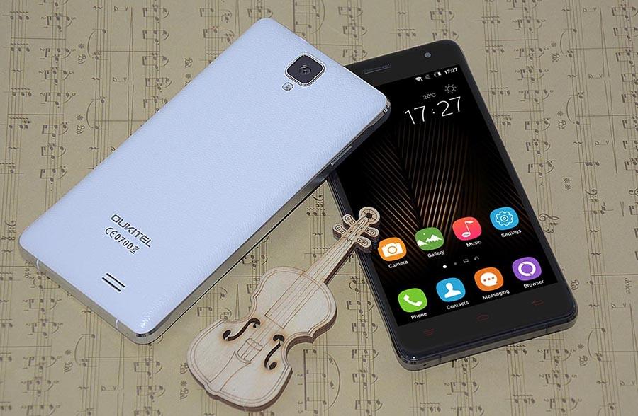 Смартфоны Oukitel K4000 Pro черный и белый