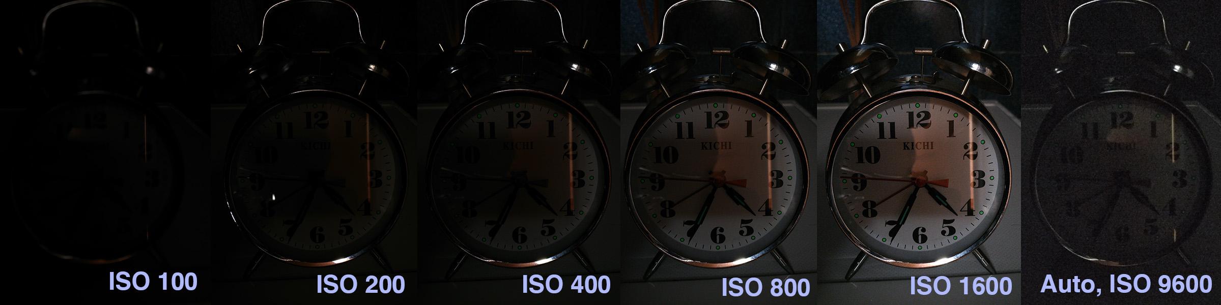 Тест ISO камеры OnePlus 3