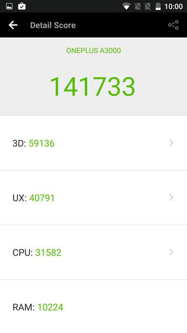 Тест OnePlus 3 в AnTuTu