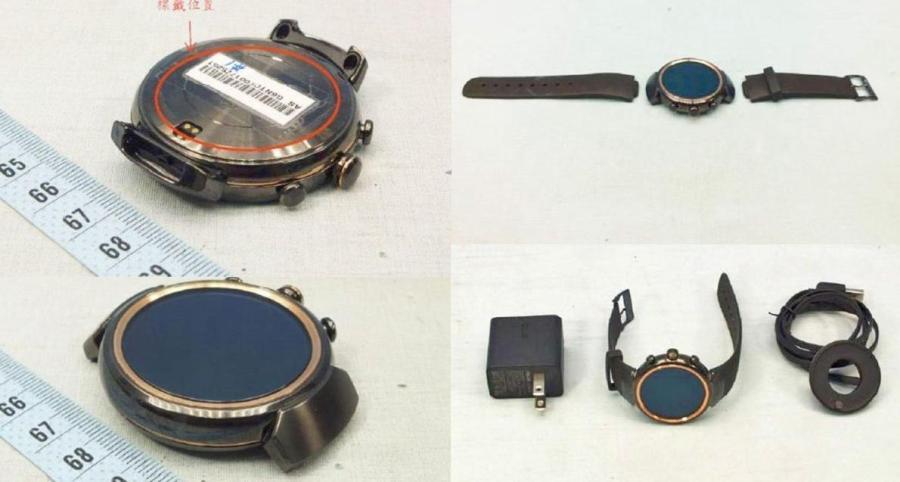 Asus готовит для презентации смарт – часы ZenWatch 3 – го поколения