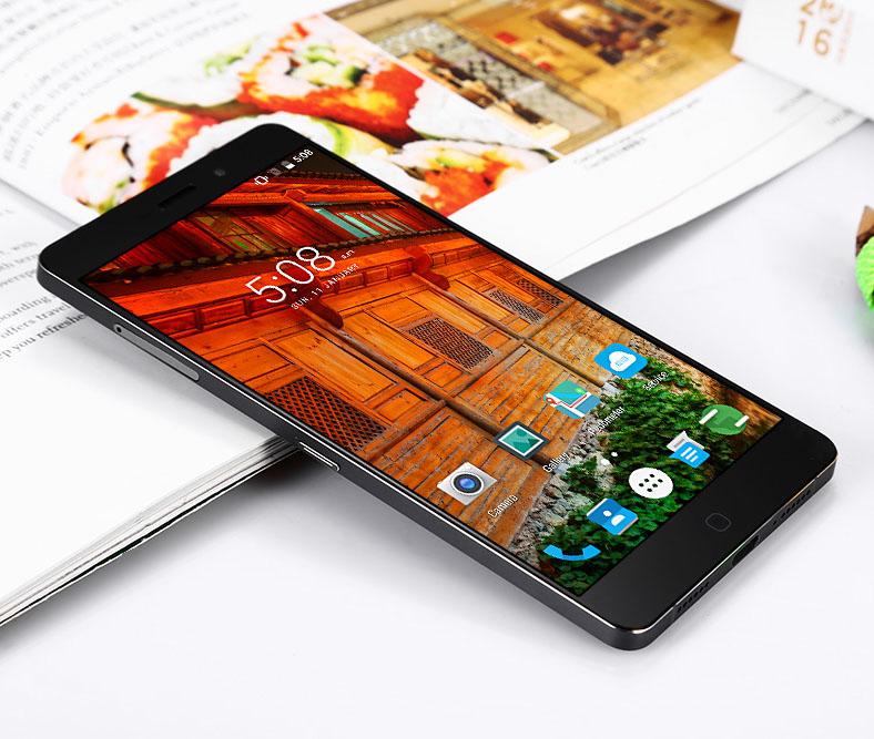 Elephone P9000 - фаблет черного цвета