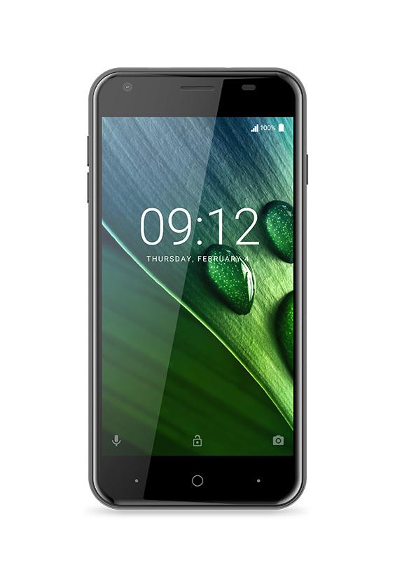 Acer Liquid Z6 Черный - вид спереди