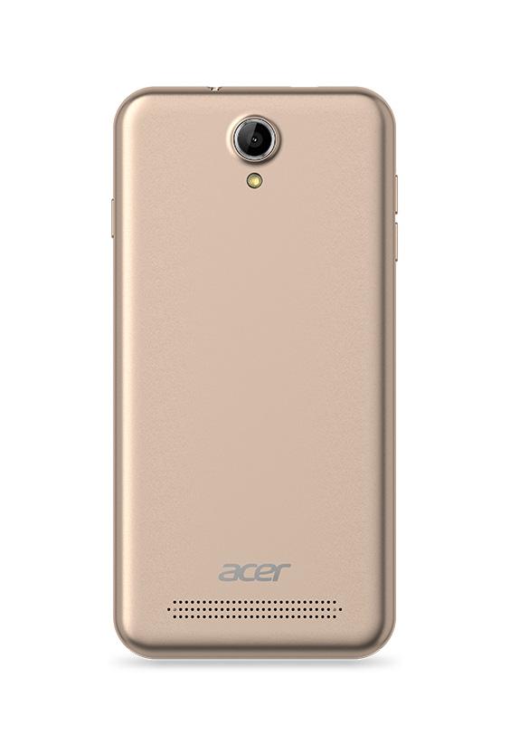 Acer Liquid Z6 Золото - вид спереди