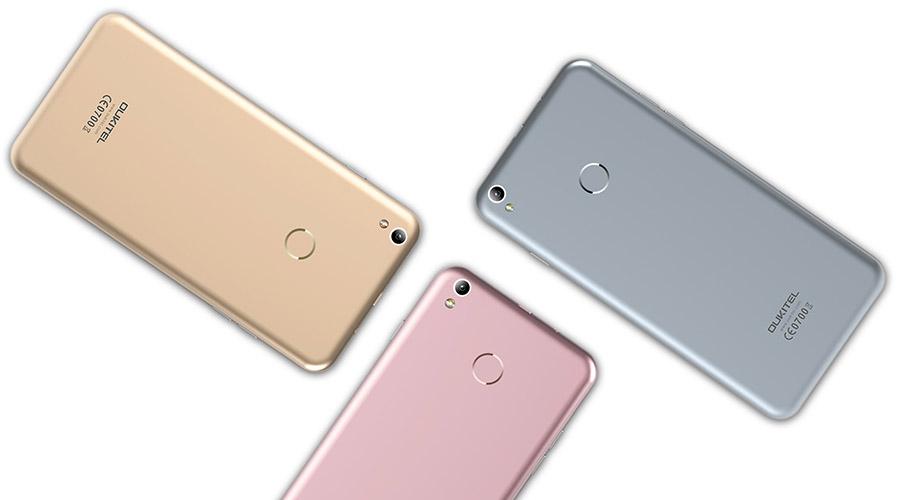 Oukitel U7 Plus цвета корпуса