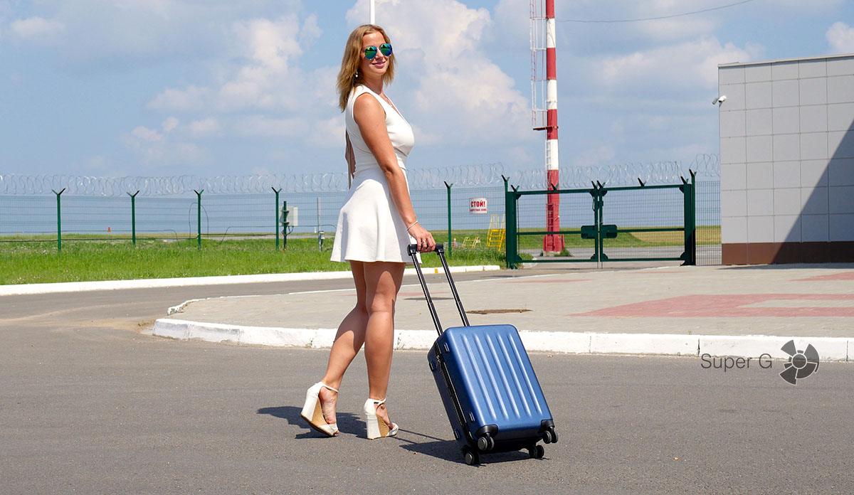 Xiaomi 90 Minutes Suitcase - чемодан для ручной клади