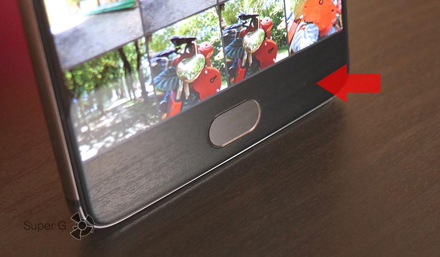 Сенсорные клавиши в OnePlus 3