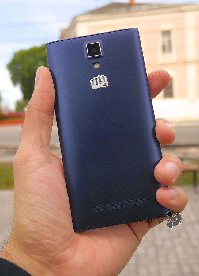 Габариты Micromax Canvas Xpress 4G Q413