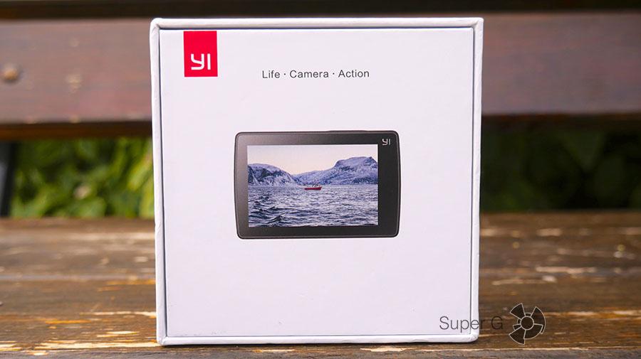 Распаковка Yi 4K Action Camera