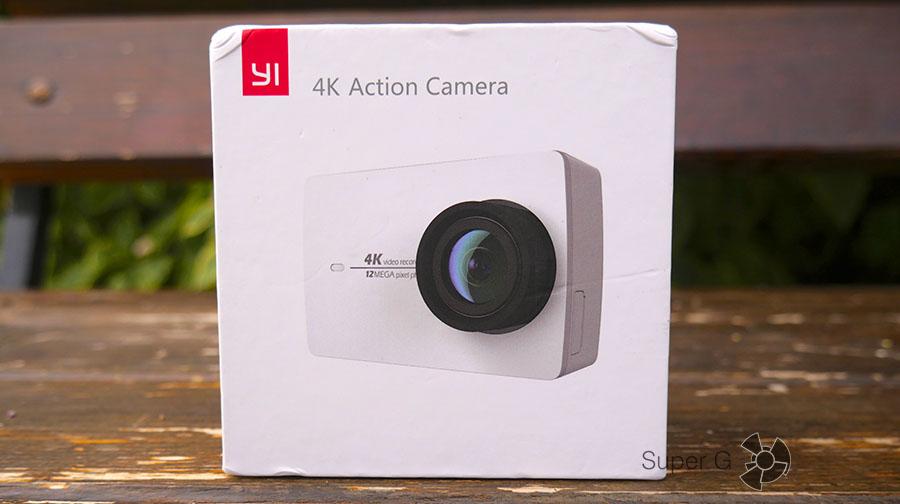 Коробка из-под Yi 4K Action Camera