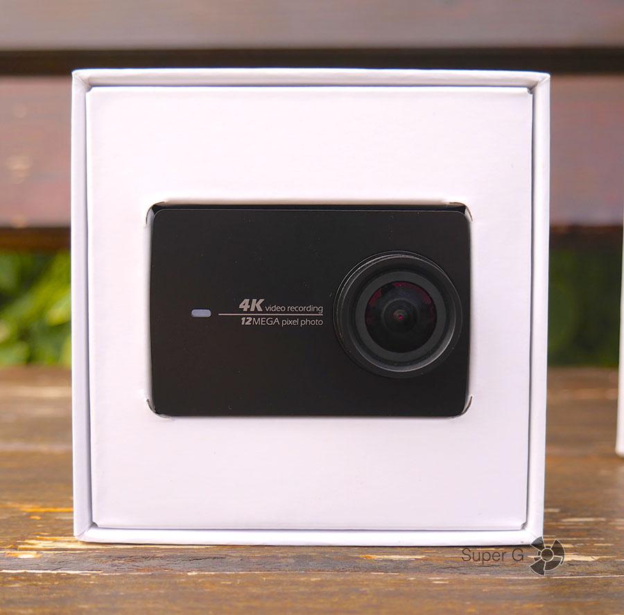 Обзор камеры Yi 4K Action Camera