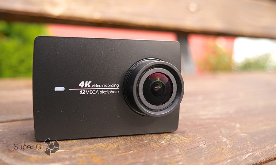Yi 4K Action Camera дизайн