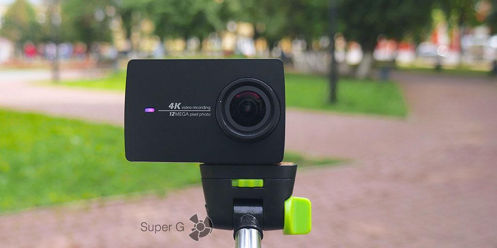 Отзывы о камере Yi 4K Action Camera