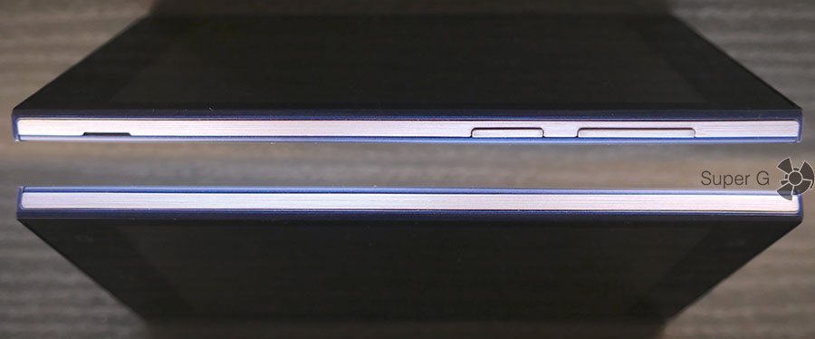 Боковые стороны смартфона Micromax Canvas Xpress 4G Q413