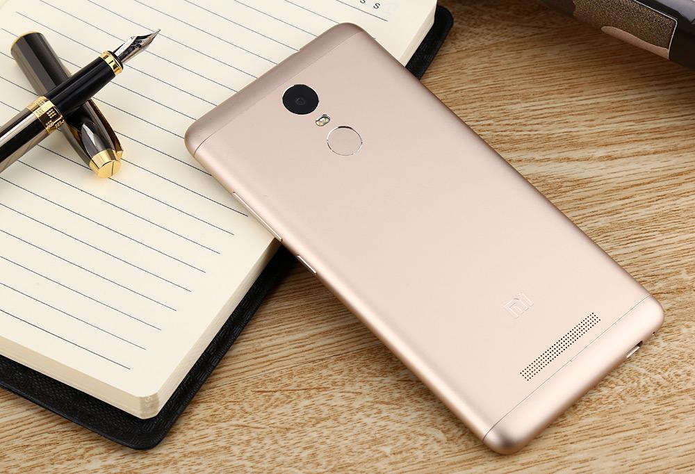 Xiaomi Redmi Note 3 Pro золотой