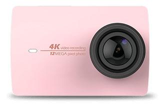 Yi 4K Action Camera розовая