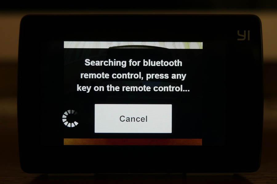 Yi 4K Action Camera умеет подключаться к Bluetooth-пультам