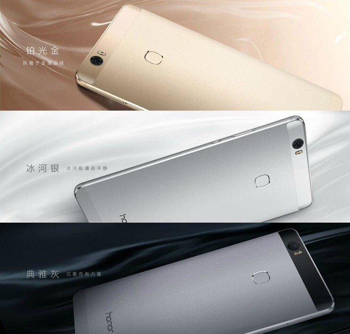 Расцветка Huawei Honor Note 8
