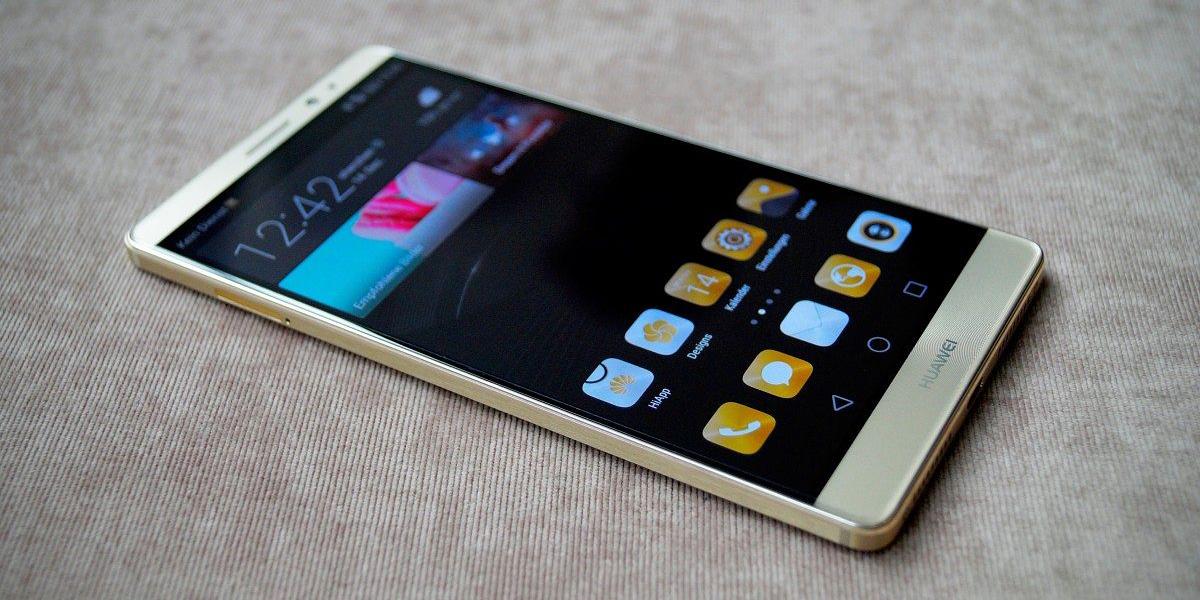 Huawei Mate 8 вид спереди