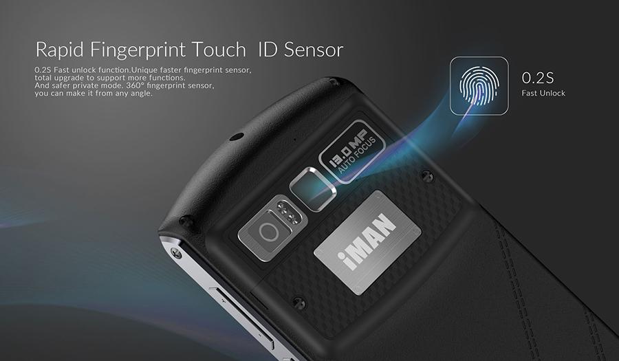iMan Victor - камера и сканер отпечатков пальцев