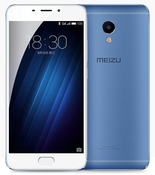 Meizu M3E - Синий металлик