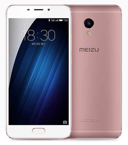 Meizu M3E - Розовое золото