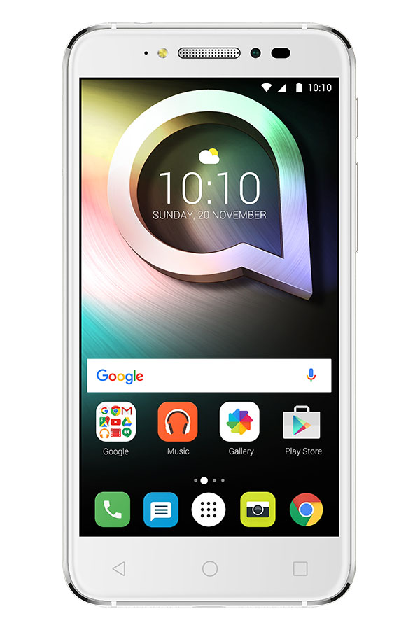 Белый Alcatel Shine Lite