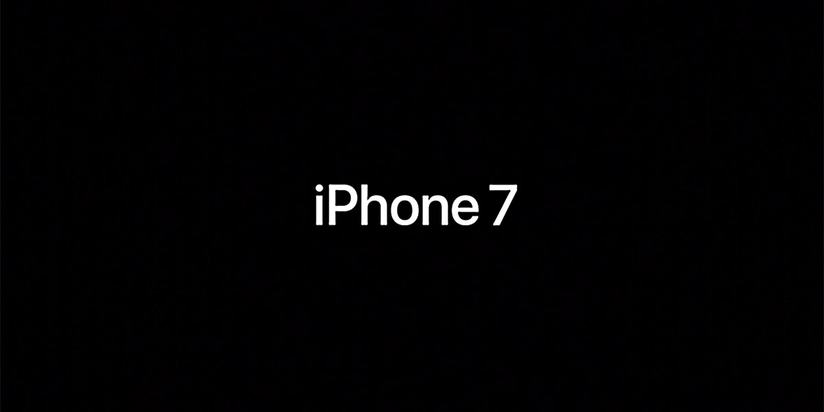 Встречайте новый iPhone 7