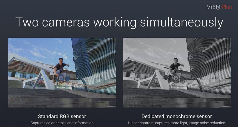 Зачем Xiaomi Mi5S Plus две камеры