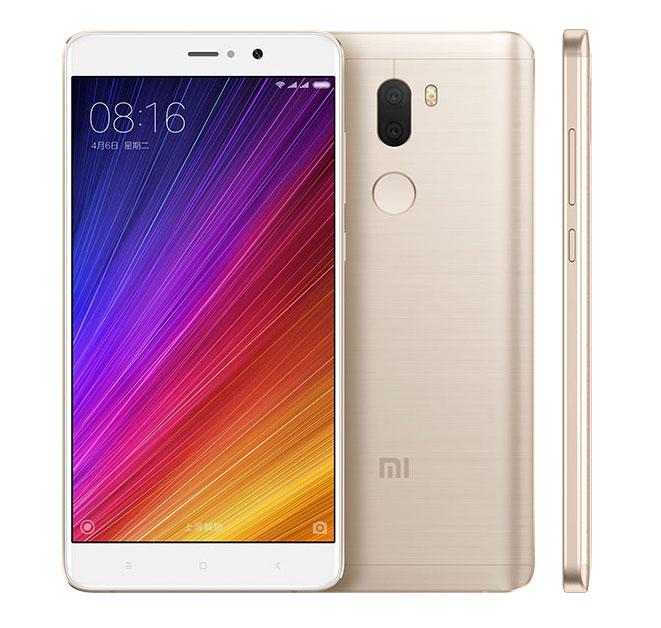 Золотой Xiaomi Mi5S Plus