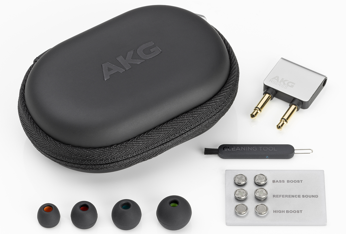 Комплектация наушников AKG N40