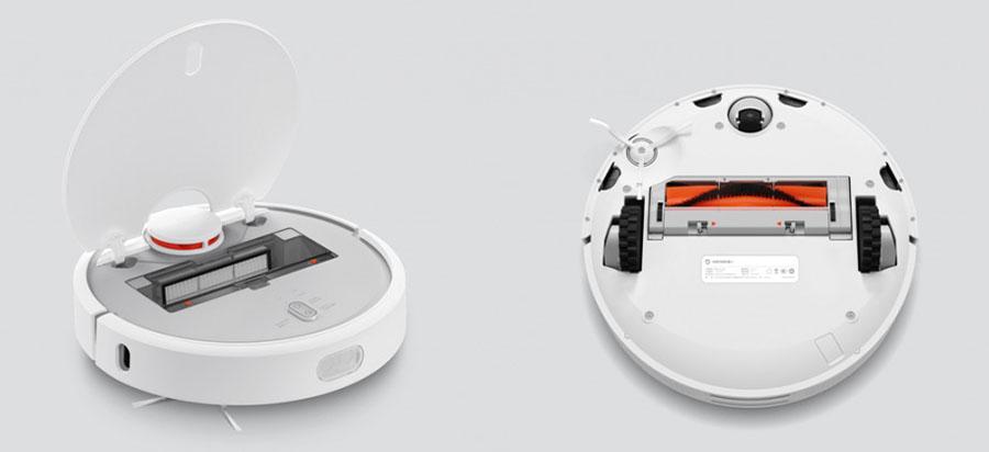 Контейнер для мусора и щетки для Xiaomi Mi Robot Vacuum