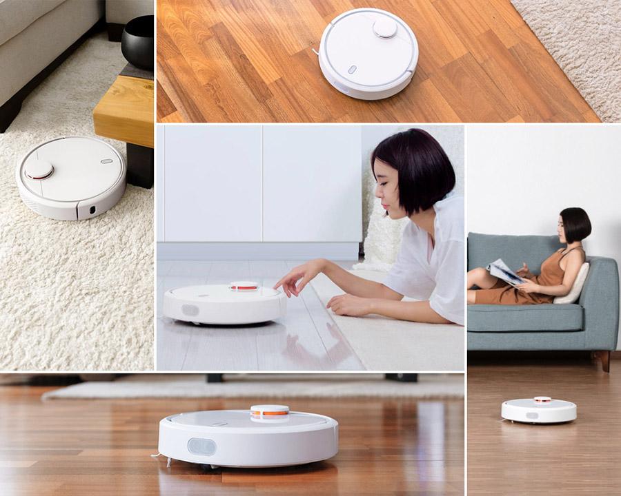 Краткий обзор умного пылесоса Xiaomi Mi Robot Vacuum