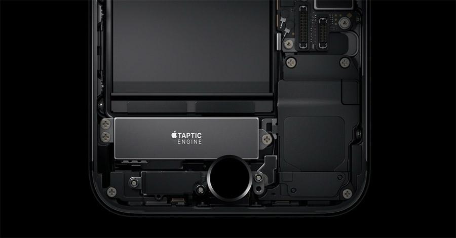 Новый моторчик Taptic Engine в iPhone 7