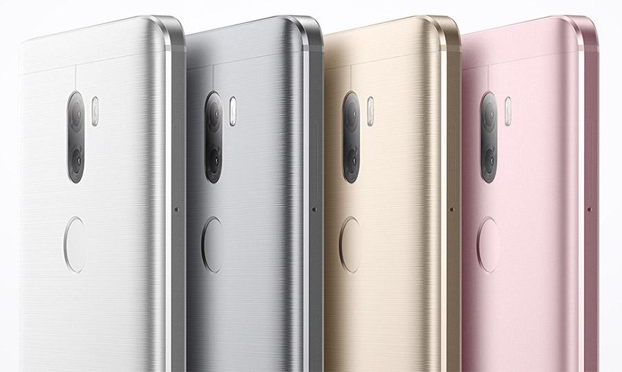 Расцветки корпуса фаблета Xiaomi Mi5S Plus