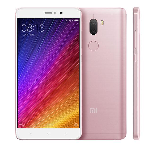 Розовый, матовый Xiaomi Mi5S Plus