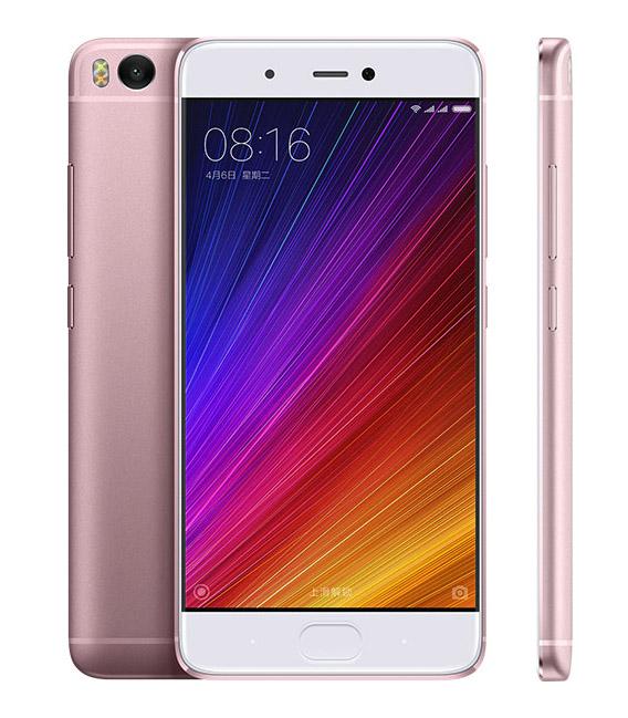 Розовый Xiaomi Mi5S