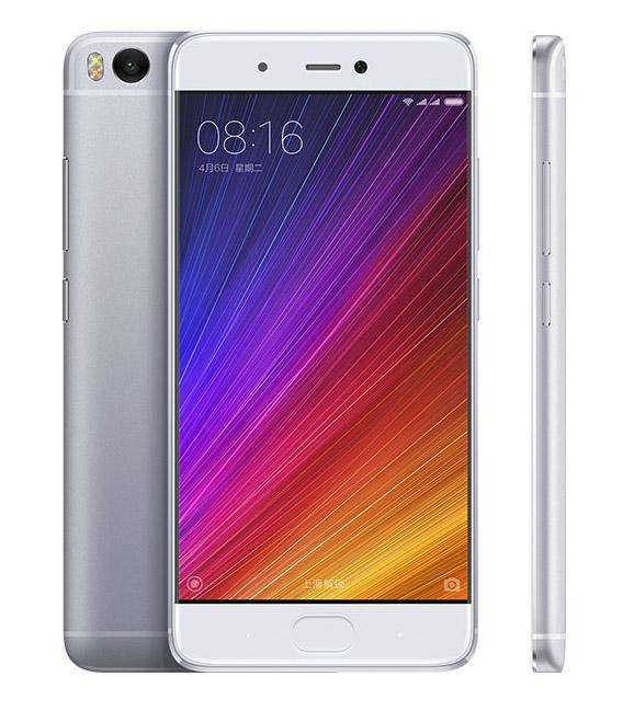 Серебристо-белый Xiaomi Mi5S