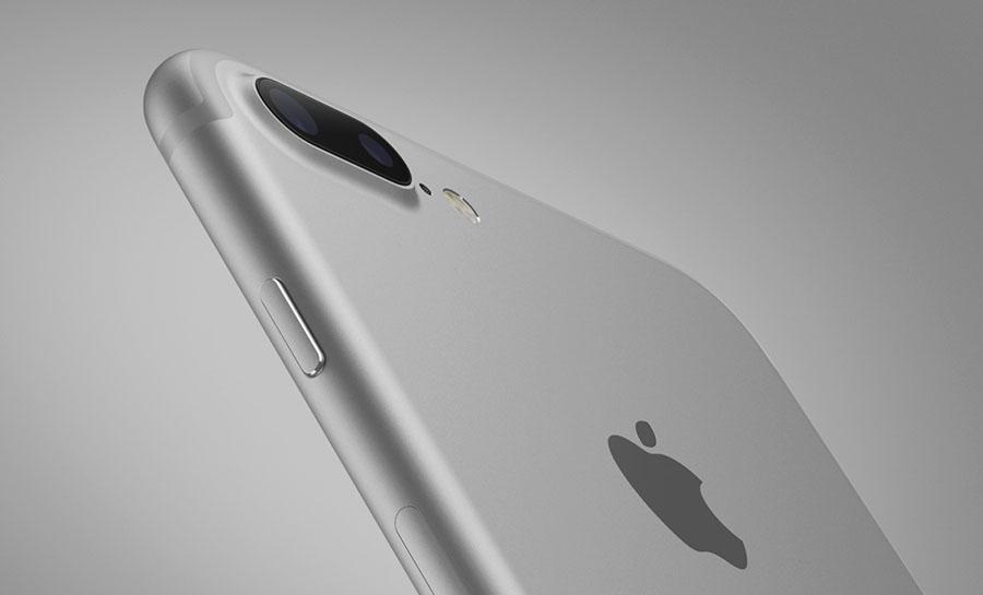 Серебристый iPhone 7