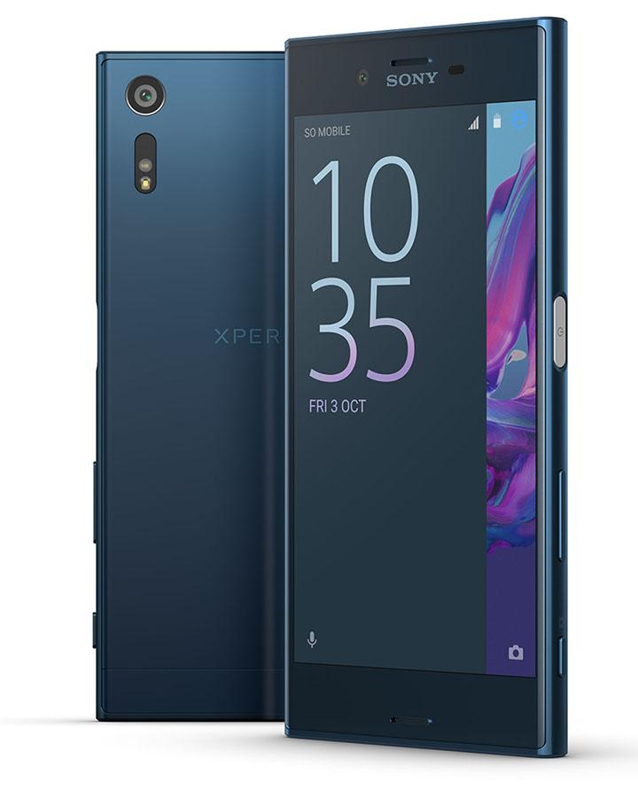Темно-синий Sony Xperia XZ цена
